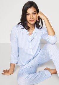 Lauren Ralph Lauren - 3/4 SLEEVE LONG PANT - Pyžamo - blue - 4