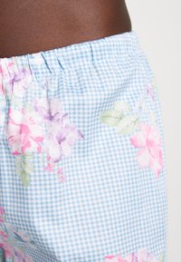 Lauren Ralph Lauren - POINTED NOTCH COLLAR LONG PANT SET - Pyžamová sada - blue - 3