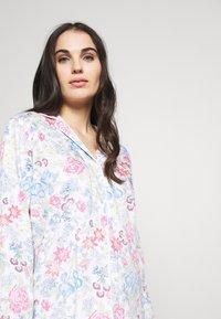 Lauren Ralph Lauren - POINTED NOTCH COLLAR LONG PANT SET - Pyžamová sada - multi-coloured - 3