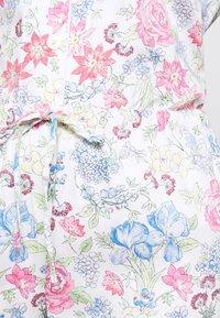 Lauren Ralph Lauren - POINTED NOTCH COLLAR LONG PANT SET - Pyžamová sada - multi-coloured - 6
