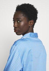 Lauren Ralph Lauren - POINTED NOTCH COLLAR - Noční košile - blue - 3