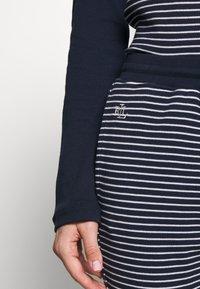 Lauren Ralph Lauren - SCOOP JOGGER PANT SET - Pyjamas - navy - 5