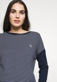 Lauren Ralph Lauren - SCOOP JOGGER PANT SET - Pyjamas - navy - 3