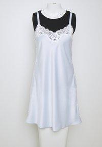 Lauren Ralph Lauren - CHEMISE - Noční košile - blue - 8