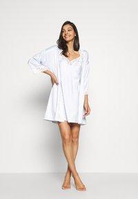 Lauren Ralph Lauren - CHEMISE - Noční košile - blue - 1