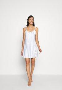 Lauren Ralph Lauren - CHEMISE - Noční košile - blue - 0