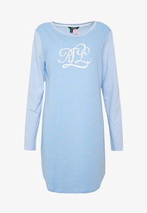LOUNGE ROLL CUFF SLEEPTEE - Negligé - blue stripe