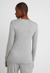 Lauren Ralph Lauren - LOGO CREW NECK - Pyjamashirt - grey heather - 2