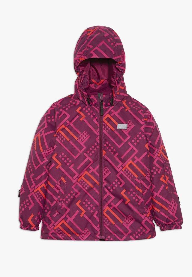 LWJOSEFINE JACKET - Winter jacket - bordeaux