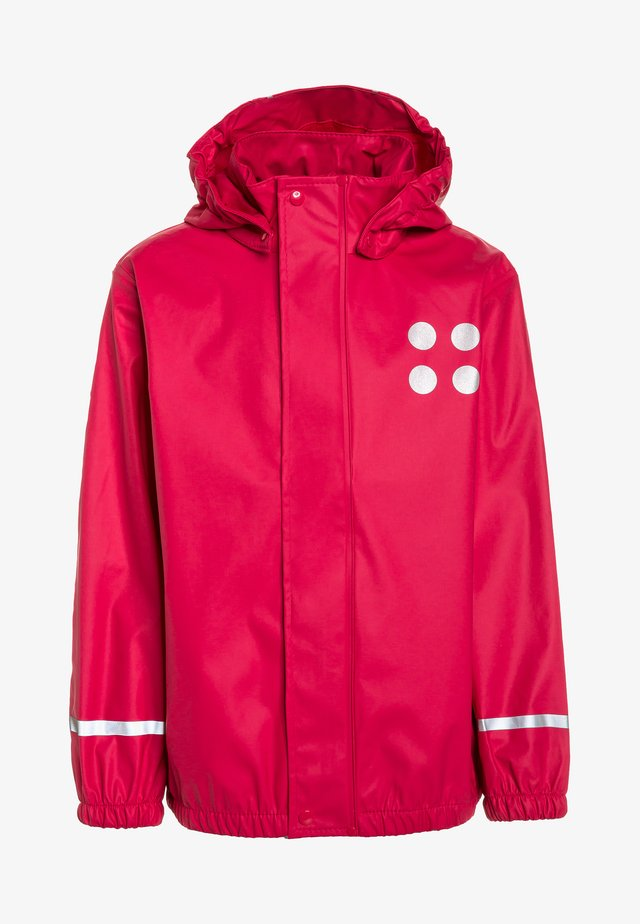 JAMAICA - Regenjacke / wasserabweisende Jacke - red