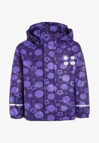 LEGO Wear - JAMAICA  - Waterproof jacket - dark purple - 0