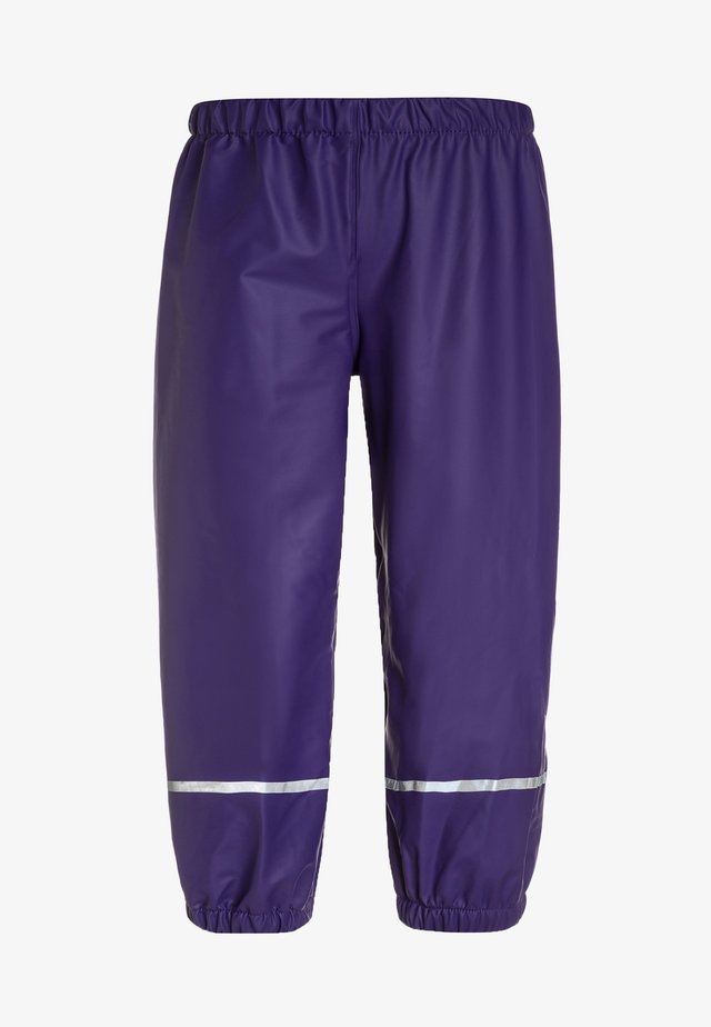 PATIENCE - Regenhose - dark purple