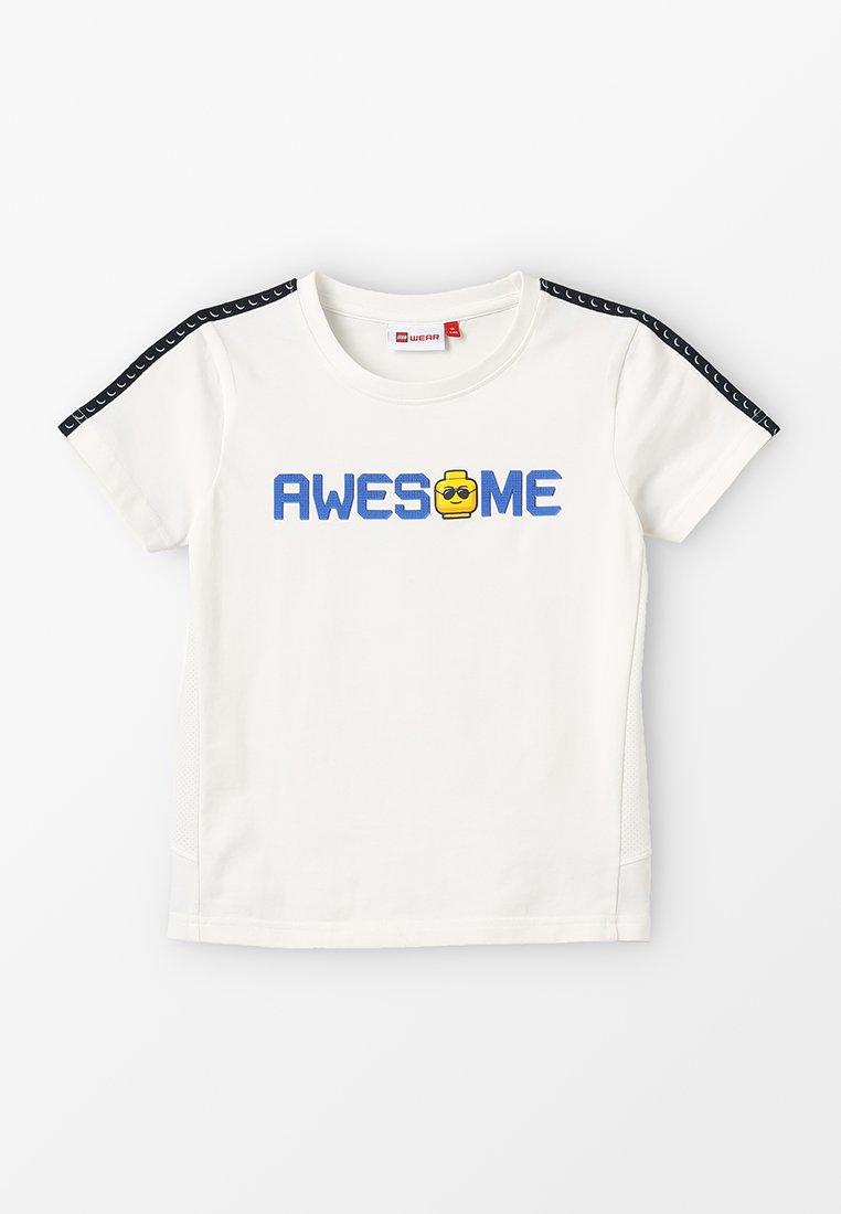 LEGO Wear - TIGER - Print T-shirt - off white