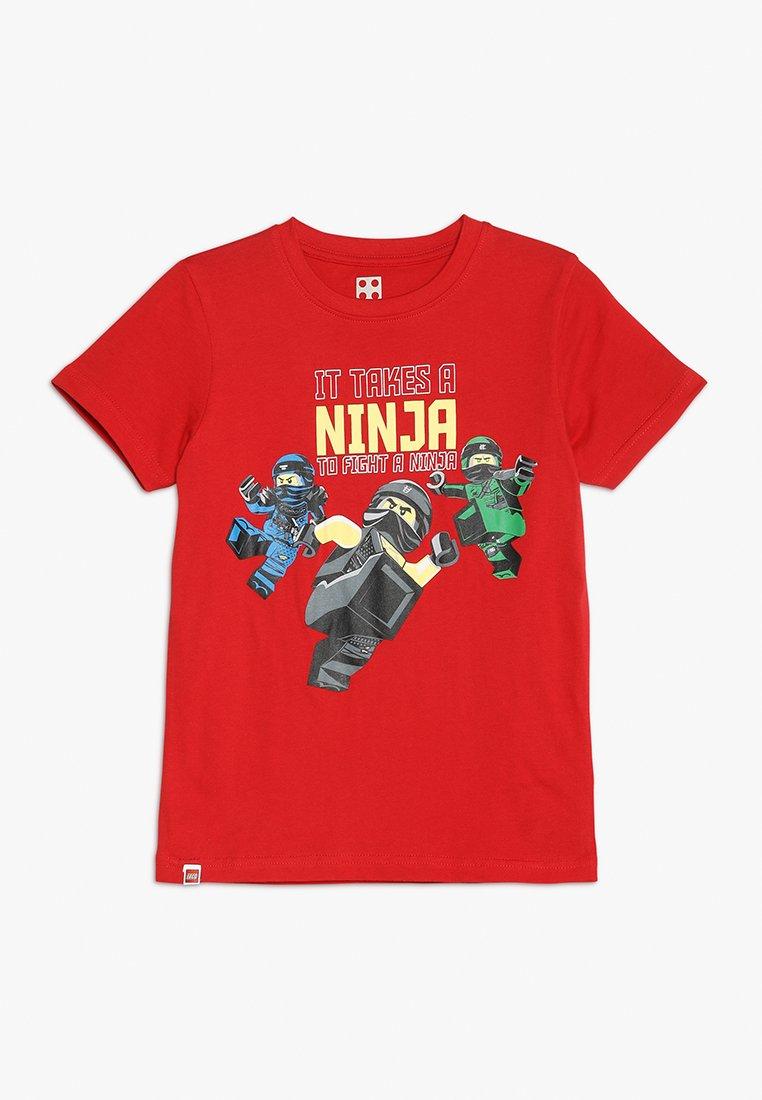 LEGO Wear - Print T-shirt - red