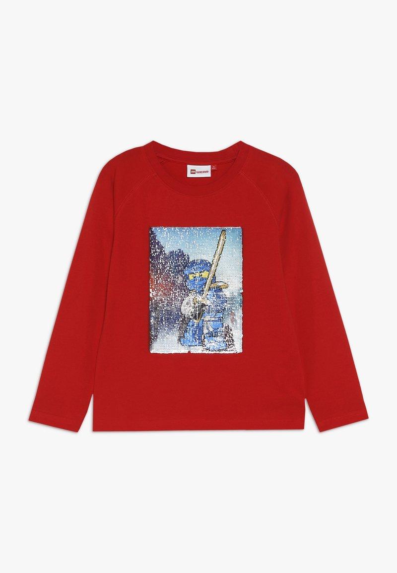 LEGO Wear - TIGER 652 - Langærmede T-shirts - bright red