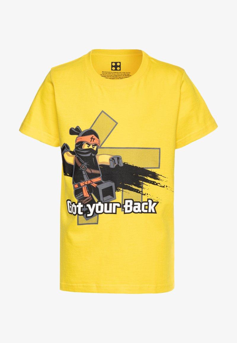 LEGO Wear - STYLE  - Triko spotiskem - yellow