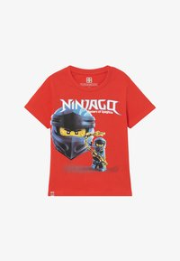 LEGO Wear - T-shirt med print - red - 2
