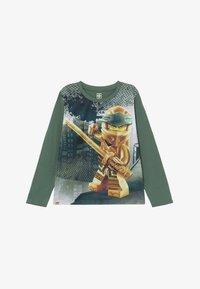 LEGO Wear - Top sdlouhým rukávem - dark green - 2