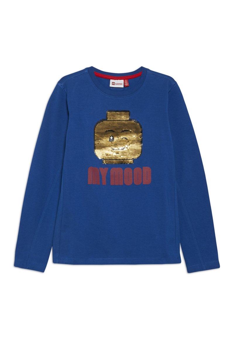 LEGO Wear - TIGER - Langærmede T-shirts - blue