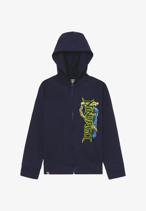 Zip-up hoodie - dark navy