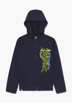 Mikina na zip - dark navy