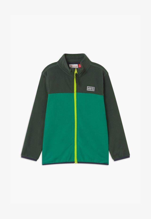 Fleece jacket - dark green