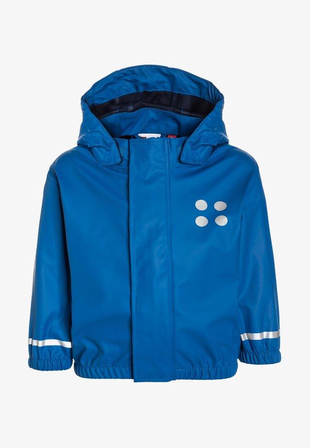 DUPLO JUSTICE - Waterproof jacket - blue