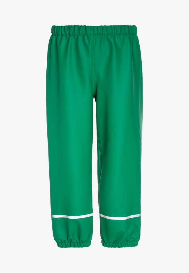 PUCK - Rain trousers - light green
