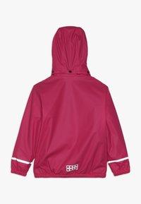LEGO Wear - JORDAN RAIN JACKET - Waterproof jacket - pink - 1