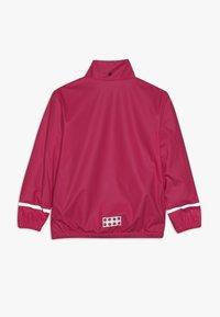 LEGO Wear - JORDAN RAIN JACKET - Waterproof jacket - pink - 2