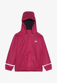LEGO Wear - JORDAN RAIN JACKET - Waterproof jacket - pink - 4