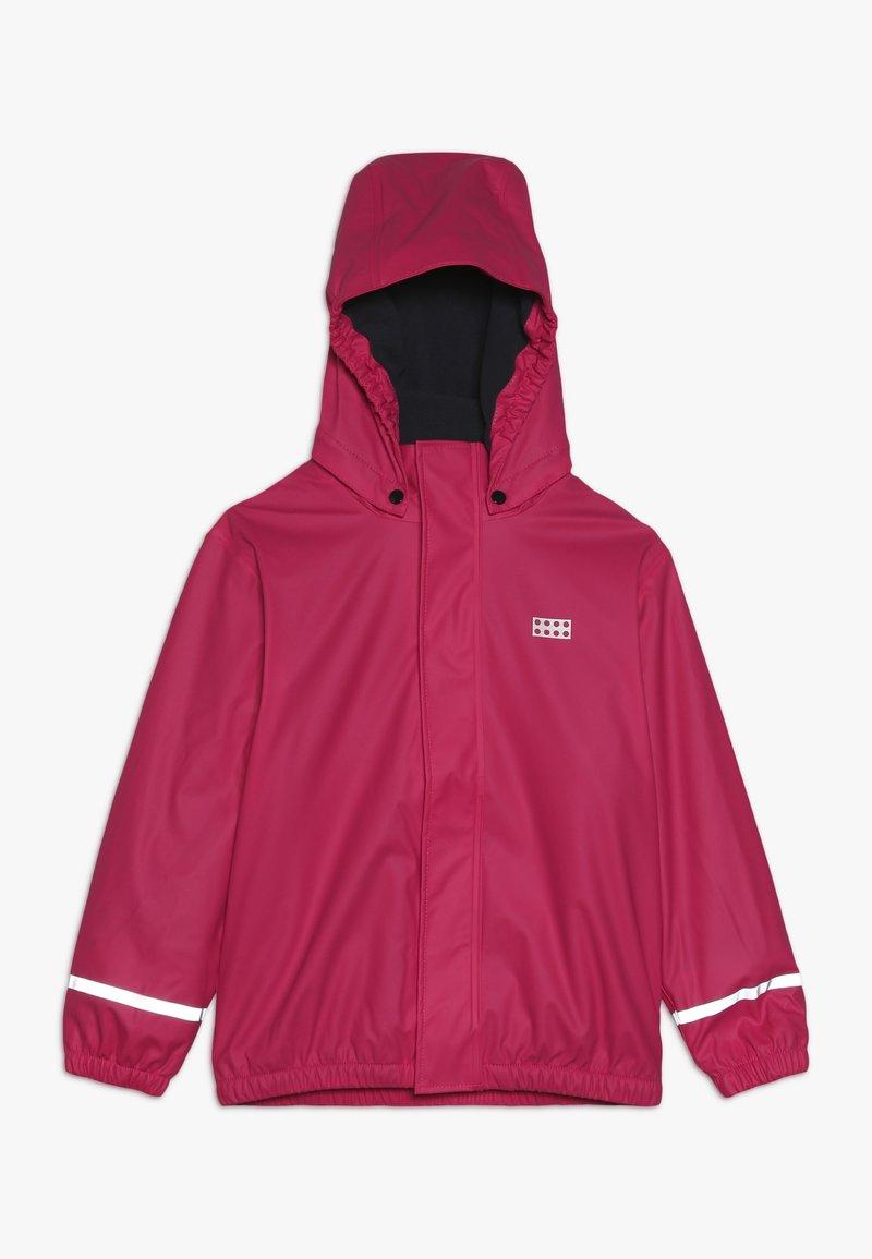 LEGO Wear - JORDAN RAIN JACKET - Waterproof jacket - pink