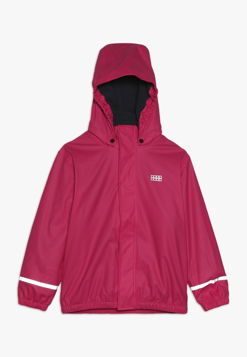 LEGO Wear - JORDAN RAIN JACKET - Waterproof jacket - pink