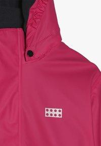 LEGO Wear - JORDAN RAIN JACKET - Waterproof jacket - pink - 5