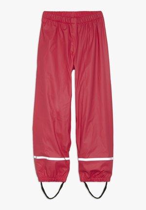 PLATON RAIN PANTS - Kangashousut - red
