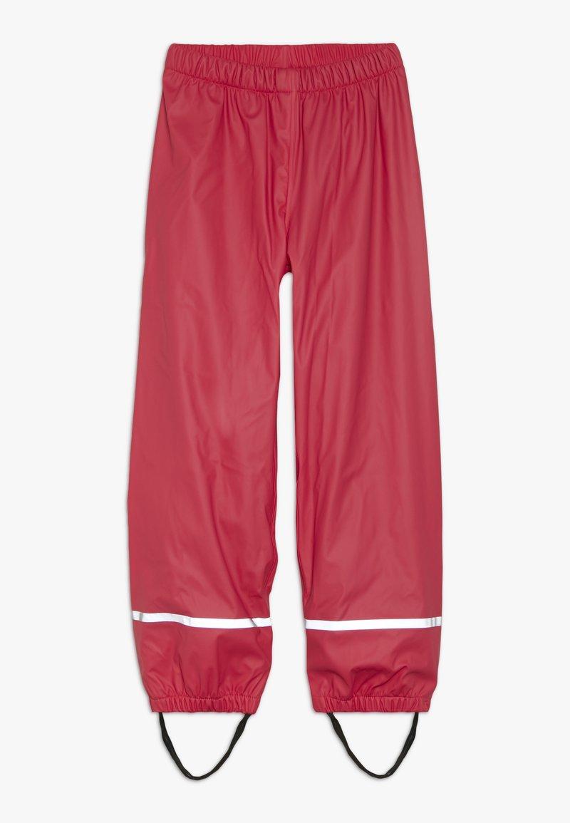 LEGO Wear - PLATON RAIN PANTS - Tygbyxor - red