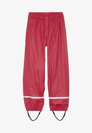 PLATON RAIN PANTS - Rain trousers - red