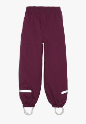 PLATON SKI PANTS - Talvihousut - bordeaux