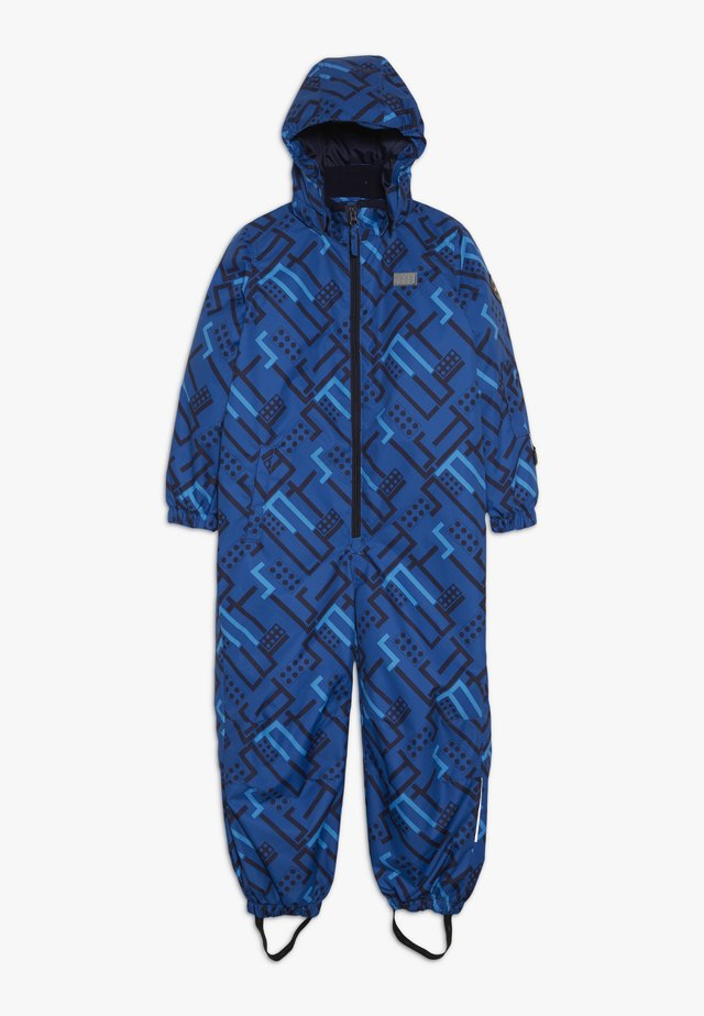 SNOWSUIT - Overall - blue