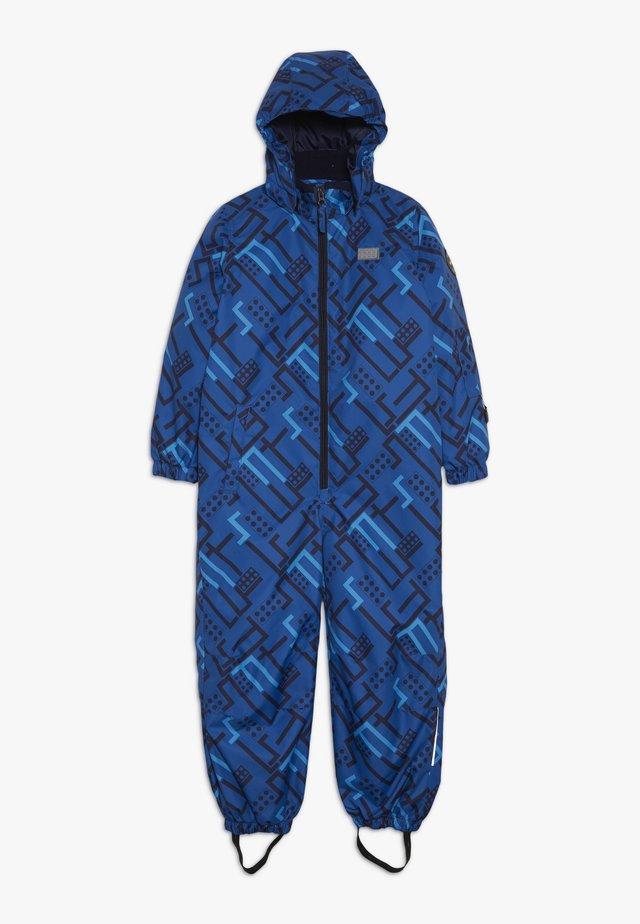 SNOWSUIT - Snowsuit - blue