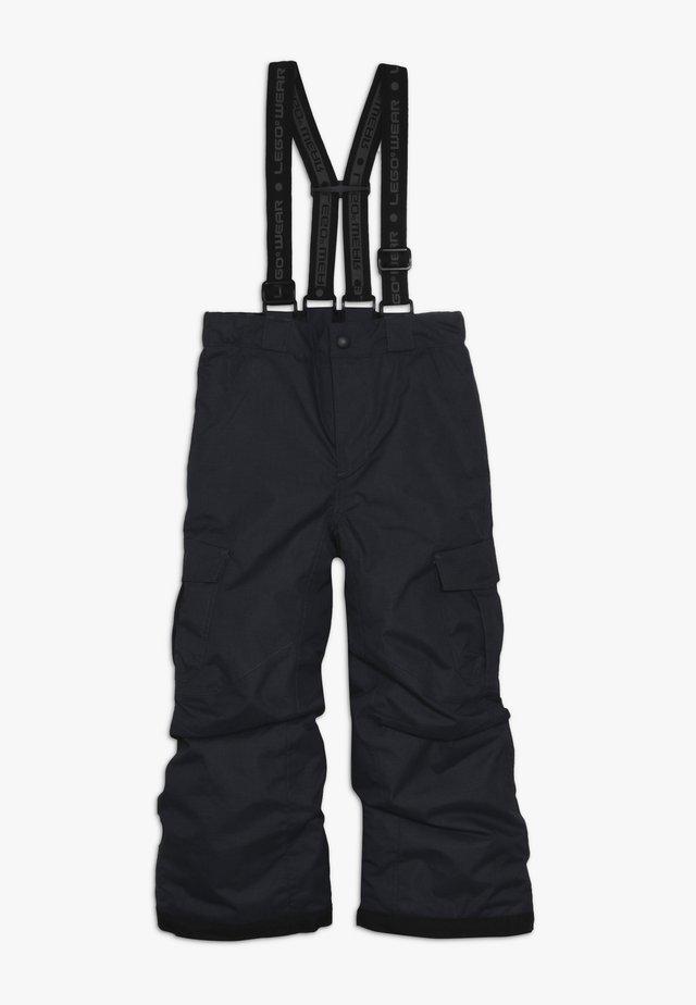 SKI PANTS - Snow pants - dark grey