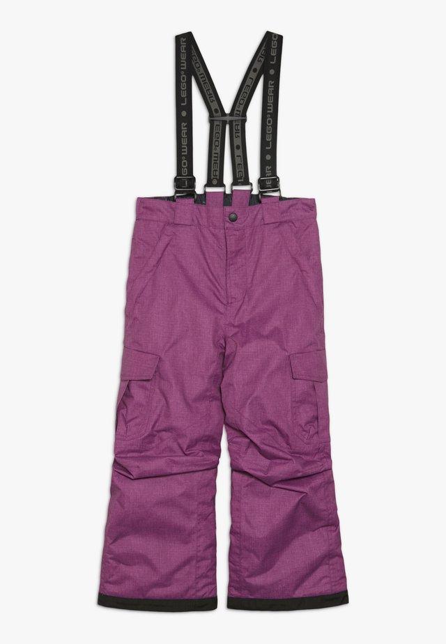 SKI PANTS - Zimní kalhoty - light purple