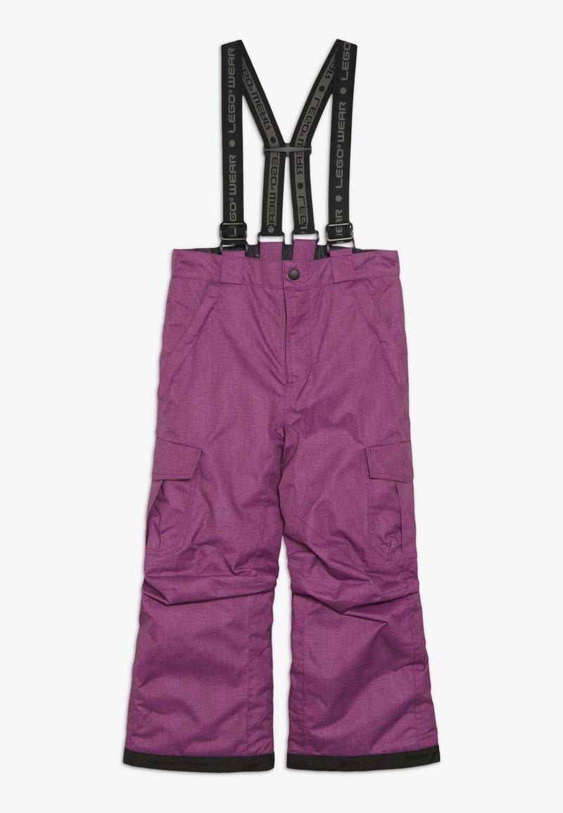 LEGO Wear - SKI PANTS - Zimní kalhoty - light purple