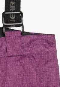 LEGO Wear - SKI PANTS - Zimní kalhoty - light purple - 3