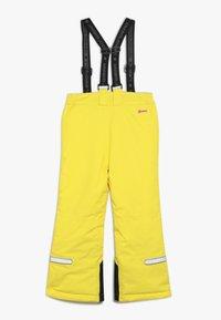 LEGO Wear - PLATON 709 SKI PANTS - Snow pants - yellow - 1