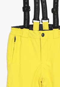 LEGO Wear - PLATON 709 SKI PANTS - Täckbyxor - yellow - 4
