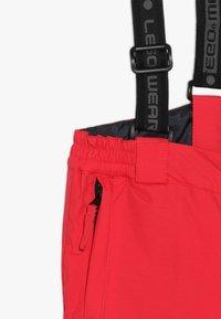 LEGO Wear - PLATON 709 SKI PANTS - Snow pants - red - 3