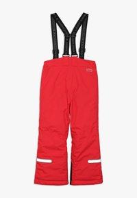 LEGO Wear - PLATON 709 SKI PANTS - Snow pants - red - 1