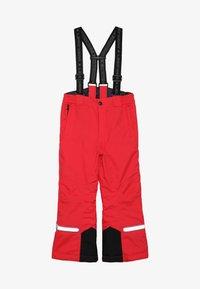 LEGO Wear - PLATON 709 SKI PANTS - Snow pants - red - 4