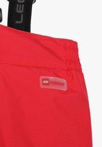 LEGO Wear - PLATON 709 SKI PANTS - Snow pants - red - 5